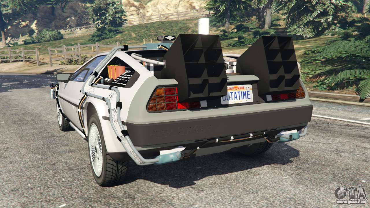 Voiture Cars Delorean