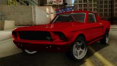 Ford Mustang Fastback pour GTA San Andreas