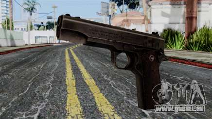 Colt M1911 from Battlefield 1942 für GTA San Andreas