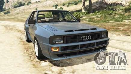 Audi Sport quattro v1.1 pour GTA 5