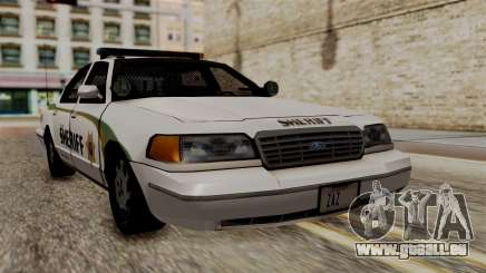 Ford Crown Victoria LP v2 Sheriff New für GTA San Andreas