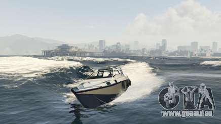 L'amélioration de bateau Suntrap pour GTA 5