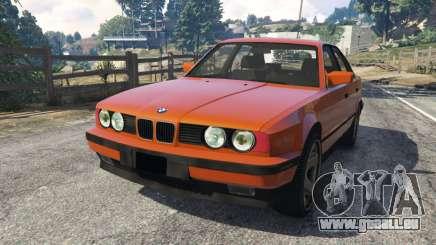 BMW 535i (E34) v2.0 pour GTA 5