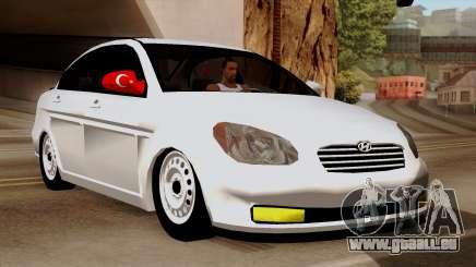 Hyundai Accent für GTA San Andreas