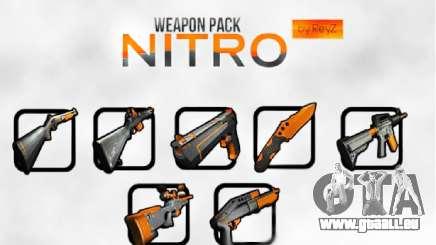 Nitro Weapon Pack für GTA San Andreas