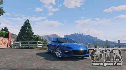 Mazda RX-8 R3 v0.1 pour GTA 5