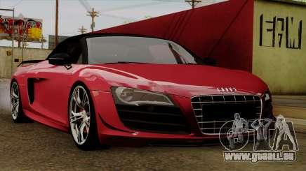 Audi R8 GT Spyder 2012 pour GTA San Andreas