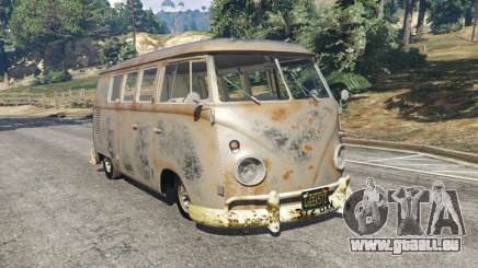 Volkswagen Transporter 1960 rusty [Beta] pour GTA 5