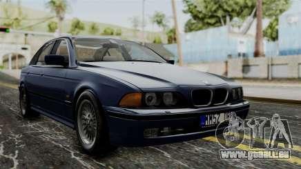 BMW 530D E39 1999 Stock pour GTA San Andreas
