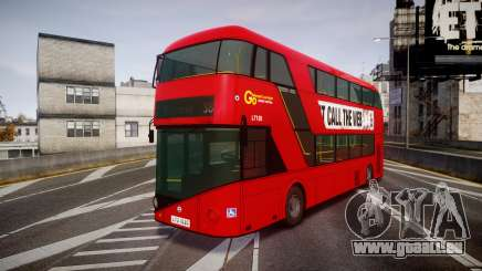 Wrightbus New Routemaster Go Ahead London pour GTA 4