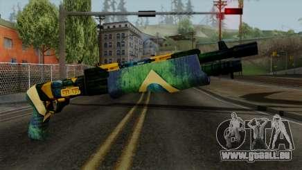 Brasileiro Combat Shotgun v2 pour GTA San Andreas
