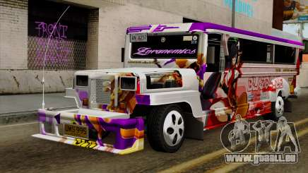 Znranomics - Costum Jeepney (Gabshop) pour GTA San Andreas