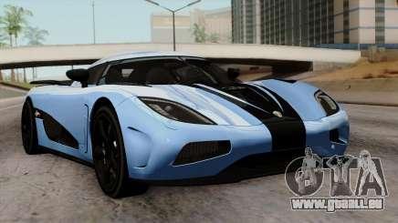 Koenigsegg Agera R 2014 Carbon Wheels für GTA San Andreas