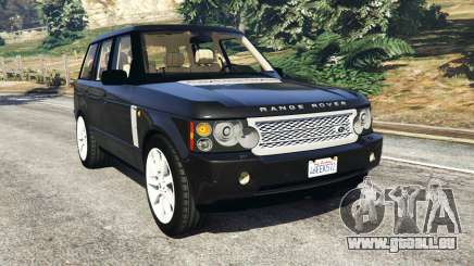 Range Rover Supercharged pour GTA 5