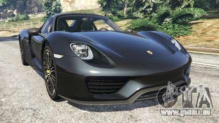 Porsche 918 Spyder 2014 [HD] für GTA 5