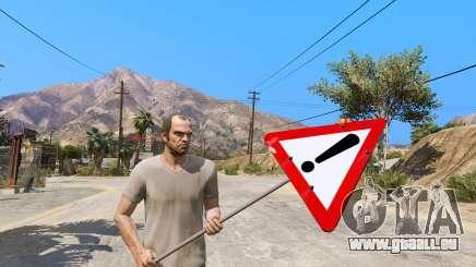 Straßenschild für GTA 5