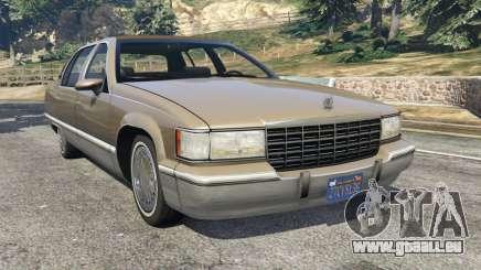 Cadillac Fleetwood 1993 pour GTA 5