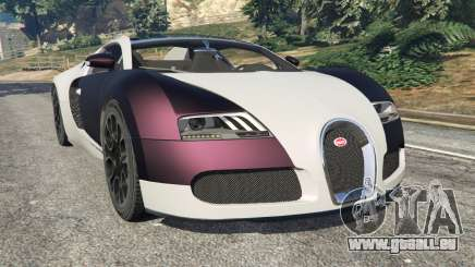 Bugatti Veyron Grand Sport v4.0 für GTA 5