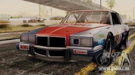 Pontiac GranPrix Hotring 1981 No Dirt für GTA San Andreas
