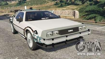DeLorean DMC-12 Back To The Future v0.3 pour GTA 5