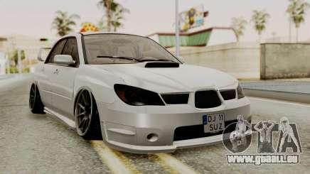Subaru Impreza WRX STI HQ pour GTA San Andreas