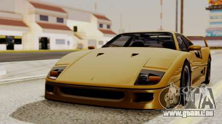 Ferrari F40 1987 HQLM für GTA San Andreas