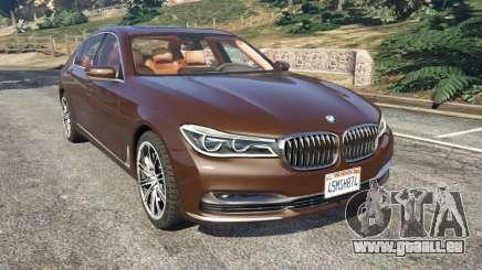 BMW 750Li 2016 v1.1 für GTA 5