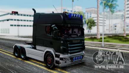 Scania R580 Longline Custom Showtruck 2008 pour GTA San Andreas