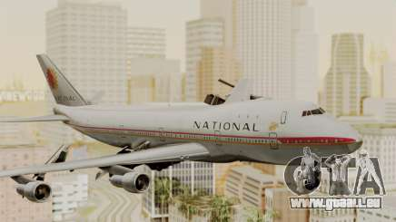 Boeing 747-100 National Airlines pour GTA San Andreas
