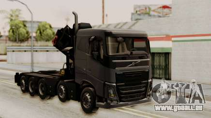 Volvo FH Euro 6 10x4 Low Cab pour GTA San Andreas