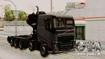 Volvo FH Euro 6 10x4 Low Cab für GTA San Andreas
