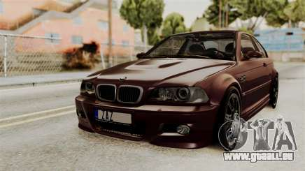 BMW M3 E46 2005 Stock pour GTA San Andreas
