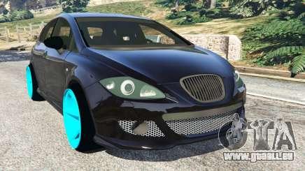 SEAT Leon II 2010 [Beta] pour GTA 5