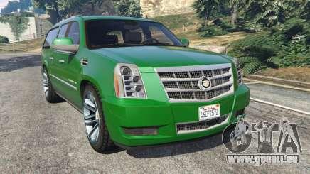 Cadillac Escalade ESV 2012 für GTA 5