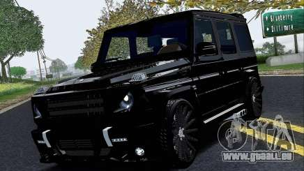 Mercedes Benz G65 Black Star Edition für GTA San Andreas