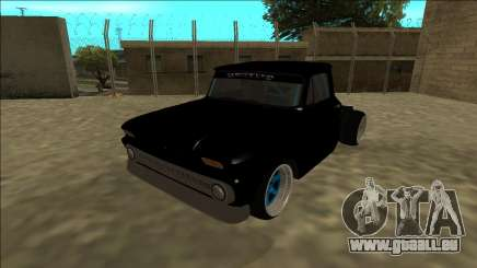 Chevrolet C10 Drift Monster Energy pour GTA San Andreas