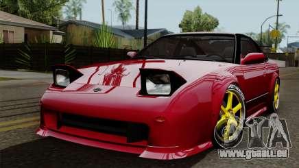 Nissan 180SX Street Golden Rims für GTA San Andreas