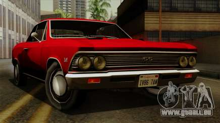 Chevrolet Chevelle SS396 1966 pour GTA San Andreas