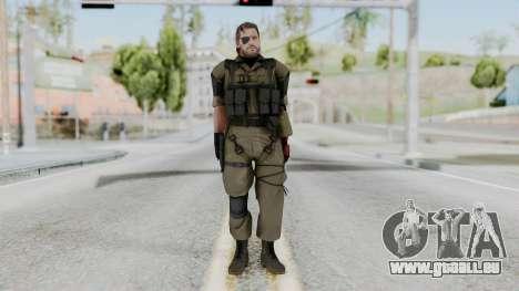 MGSV Phantom Pain Snake (Olive Drab Version) pour GTA San Andreas deuxième écran