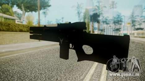 VXA-RG105 Railgun without Stripes pour GTA San Andreas deuxième écran
