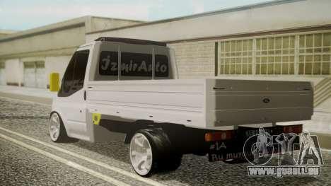 Ford Transit Hasta Ticariii pour GTA San Andreas laissé vue