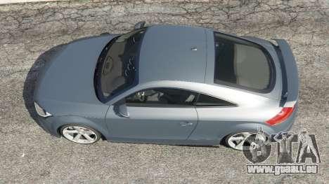 GTA 5 Audi TT RS 2013 vue arrière