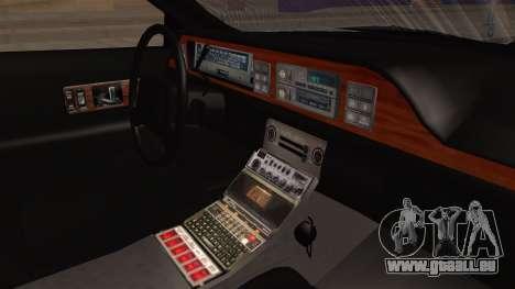 Chevy Caprice Station Wagon 1993- 1996 SAFD pour GTA San Andreas vue de droite
