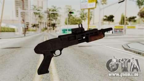 Shotgun from RE6 pour GTA San Andreas deuxième écran