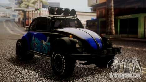 Volkswagen Beetle Vocho-Buggy pour GTA San Andreas