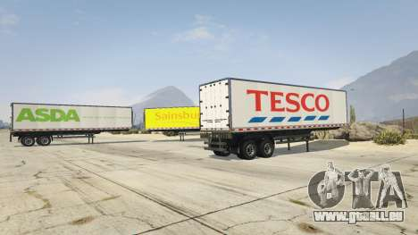Real Brand Truck Trailers pour GTA 5