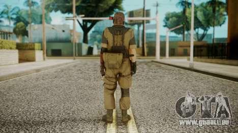 Venom Snake Olive Drab pour GTA San Andreas troisième écran