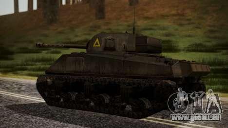Sherman MK VC Firefly pour GTA San Andreas laissé vue