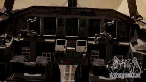 Embraer 170-100 Air Costa für GTA San Andreas Rückansicht