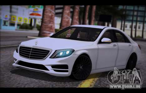 Mercedes Benz S63 W222 Des Articles De Qualité pour GTA San Andreas